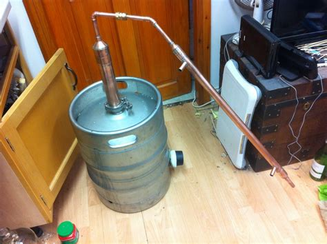 build  keg   whiskey pot  design  steps