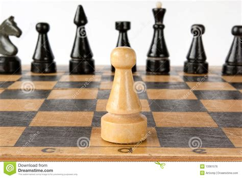 chess strategy chess strategy points of view main focus on king and pawn royalty free stock photo