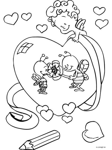 Kleurplaat Cupido by Kleurplaat Cupido Kleurplaten Nl