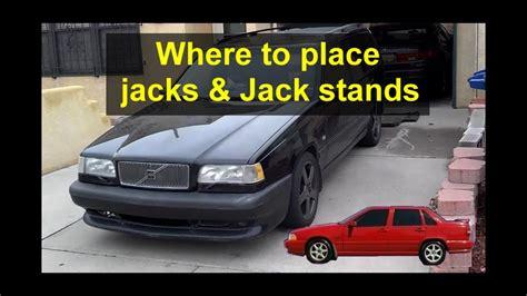 install jacks  jack stands  p volvos