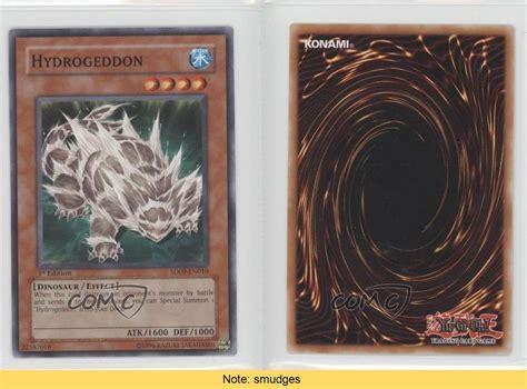 2006 Yu Gi Oh Dinosaurs Rage Sd9 En010 Hydrogeddon