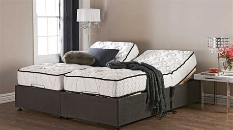 King Bed Frame And Mattress by Mattress Split King Adjustable Bed Frame With Nightstand