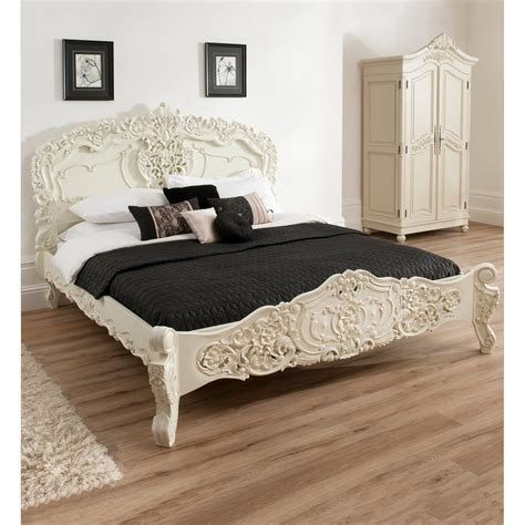 shabby chic bedding ivory bordeaux ivory shabby chic style bed shabby chic furniture