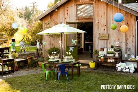 Gardening Party For Pottery Barn Kids