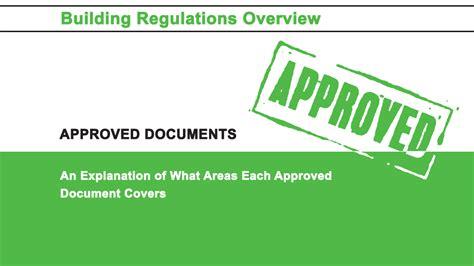 overview   uk building regulations