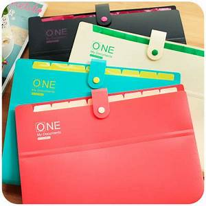 aliexpresscom buy korean stationery cute file folder a4 With cute document folder