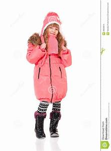 Little Girl In Winter Clothing Stock Images - Image: 28930814