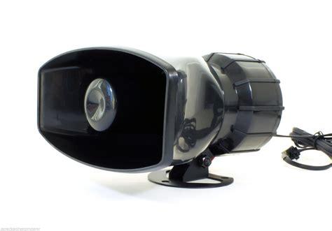 5 Tone Siren Pa System 12v Car Truck Horn Speaker Fire