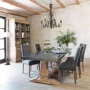 salle a manger des tables qui ont du style cote maison With meuble style campagne chic 6 chaise haute pin 4273