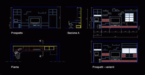 tv setwall unit  dwg block  autocad designs cad