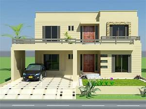 House front pakistan front elevation home designs for Home interior design styles in pakistan