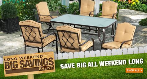 deals on patio furniture canada the home depot canada day sale up to 600 on