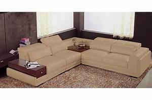 canape d39angle en 100 cuir italien 5 6 places san With tapis persan avec confort luxe canapé