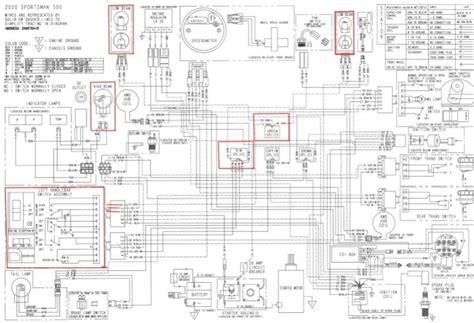 polaris predator 500 wiring diagram wiring diagram and