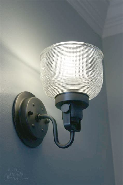 how to install a wall sconce light fixture - Installing Sconces