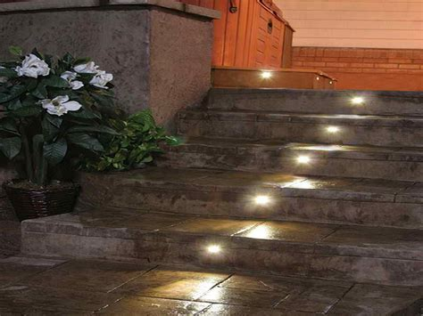 outdoor outdoor step lighting ideas attractive outdoor