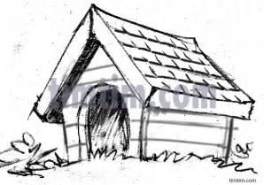 Dog House Sketch