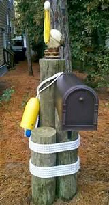22 Awesome & Unique Coastal & Nautical Mailboxes & Mailbox