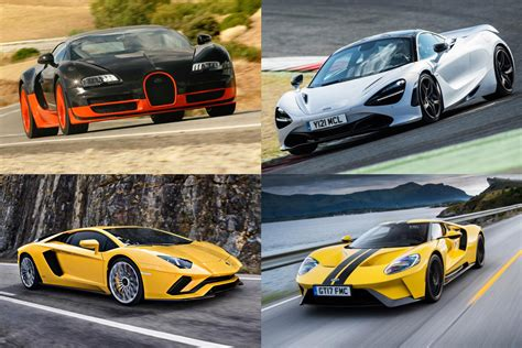 World's fastest production cars 2019   Auto Express