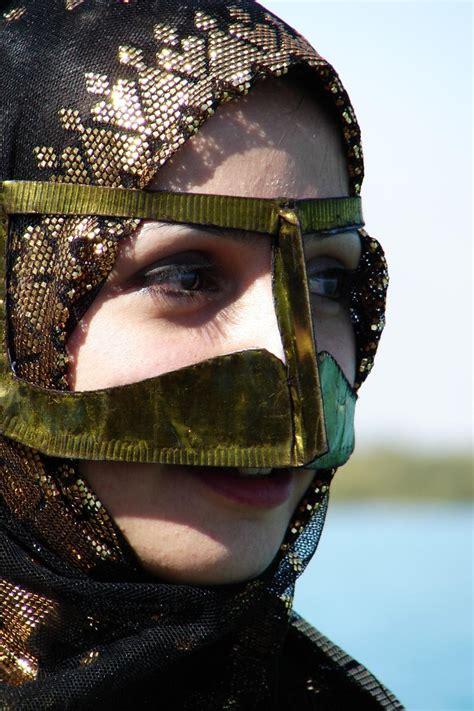 close   part   traditional bandari burqa costume