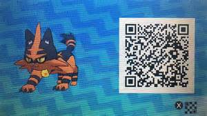Sun Moon QR-Codes Pokemon