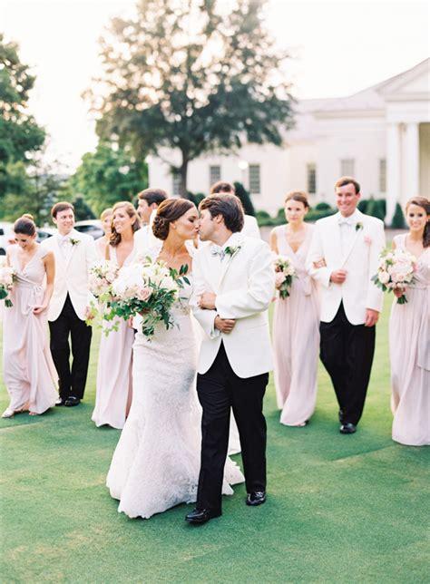 southern white tie wedding blog  girl weddings