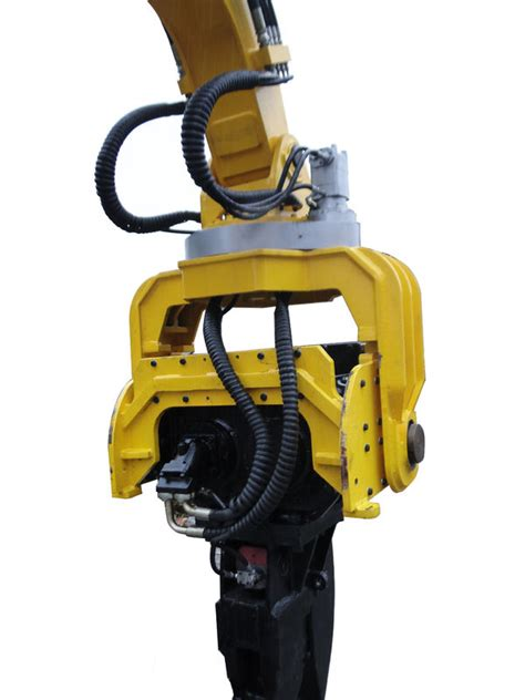excavator hydraulic sheet pile vibro hammer   ton excavator