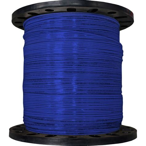 cerrowire 2500 ft 12 19 blue stranded thhn wire 112 3604m the home depot