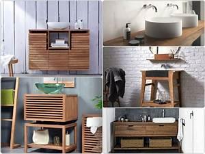 Holz Im Bad : waschtisch aus holz und andere rustikale badezimmer ideen ~ Lizthompson.info Haus und Dekorationen