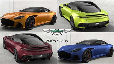 aston martin dbs superleggera colors exterior configurator