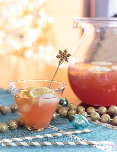 holiday punch recipes vodka bourbon spiked punch