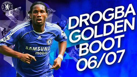 Didier Drogba's Golden Boot Winning Season | All 20 Goals ...