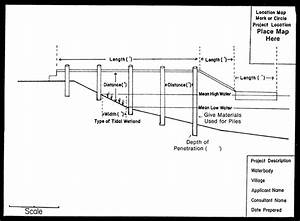 Dock Construction Crossview Diagram