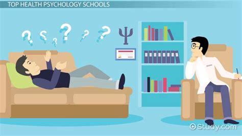 top schools  health psychology