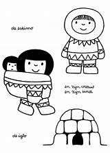 Eskimo Dick Bruna Kleurplaat Igloo Nijntje Iglo Zijn Coloriage Kleurplaten Vrouw Coloriages Polo Kunst Norte Thema Zwart Wit Animals Fajta sketch template