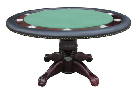 round poker table with dining berner billiards 60 quot round poker table 4 chairs in
