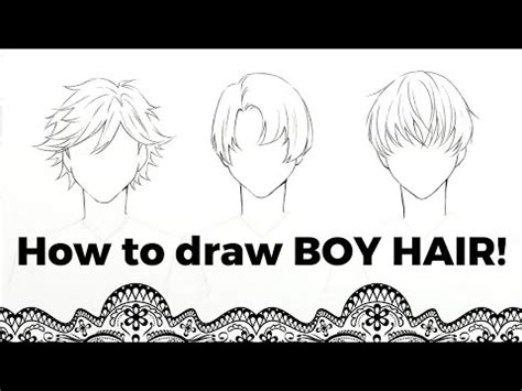 How to draw anime boy hair drawing realistic anime hair for beginners real time drawing for in this video i show you how to draw three different anime boy hairstyles. How to draw manga mouth | Doovi