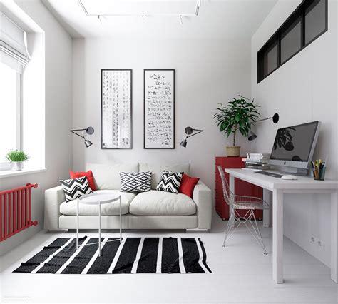 small apartments  rock uncommon color schemes  floor plans