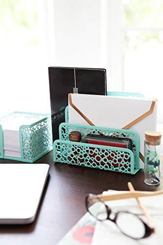 blu monaco office supplies mint green desk organizers