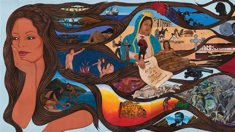 siege de mural celebrating the chicana o murals of l a some lost