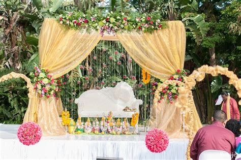 Garden Decoration South Africa by Ballitoville South Africa Indian Wedding By Fotojen