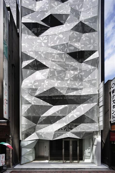 dear ginza building facade detail viahousecom