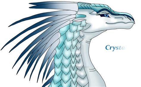 Crystal - IceWing OC by AnaPaulaDBZ on DeviantArt
