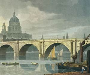 South West View Of St Pauls Cathedral And Blackfriars ...