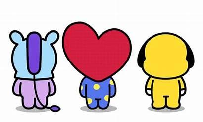 Bt21 Stickers Bts Sticker Cartoon Line Merch