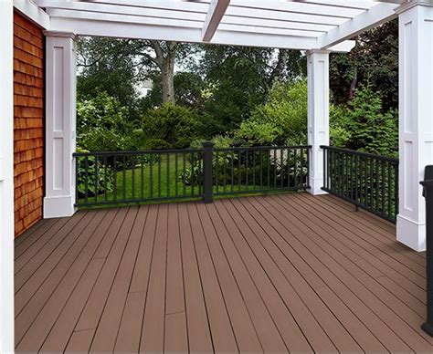 azek porch flooring dimensions azek harvest collection autumn chestnut grooved 12