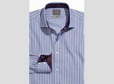 Thomas Dean Multi Bar Stripe Sport Shirt Mensfash