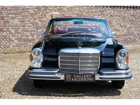 You've just been sent an email that contains a confirmation link. Classic Mercedes-Benz W111 280 SE Convertible with fact... for sale - Classic & Sports Car (Ref Nl)