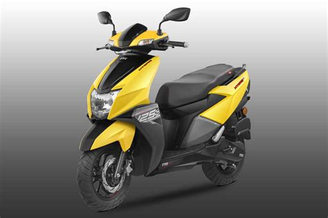 tvs ntorq  scooter launched  india autobics