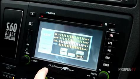 gx  bluepower headunit  volvo sv youtube